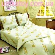 Продаем постельное белье полуторное Сакура ТМ Магiя комфорту
