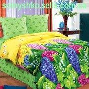Продаем постельное белье полуторное Гиацинт ТМ Любимый дом