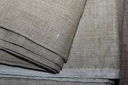 Продам ткань,   плотный лен серо-песочного цвета,  90 г.г.,  УССР