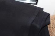Продам тканькрепдешин шелковый  черный  ,  СССР (Киев)