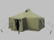 брезентовые палатки военные, тенты, навесы, пошив под заказ