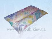 Ортопедическая подушка с наполнителем из гречневой шелухи.